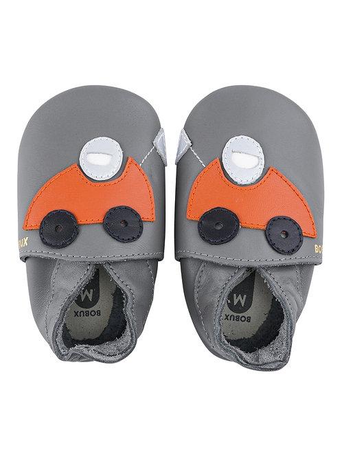 Bobux soft sole Racer grigia