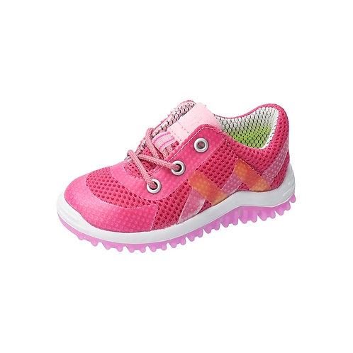 Pepino Pero fuxia scarpe sportive flessibili leggere lacci