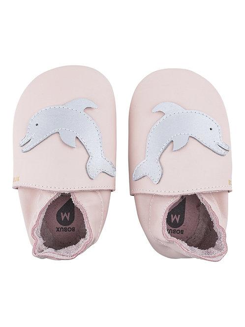 Bobux soft sole Delfino rosa