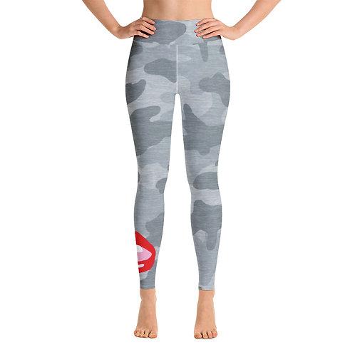Leggings Military grey