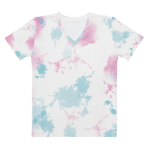 Women's T-shirt PASTEL TIE-DYE