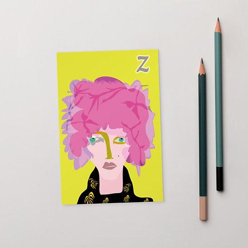 Postcard Z