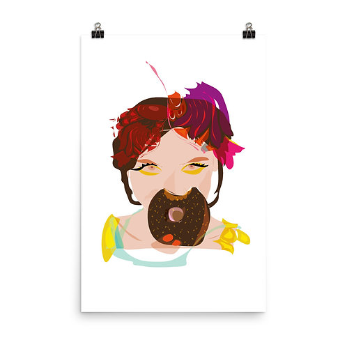 Póster Donuts
