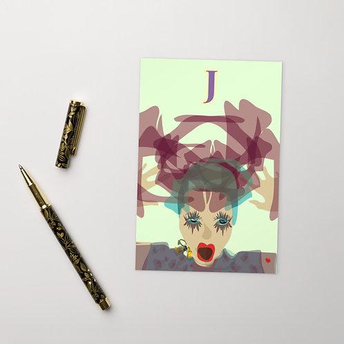 Postcard J