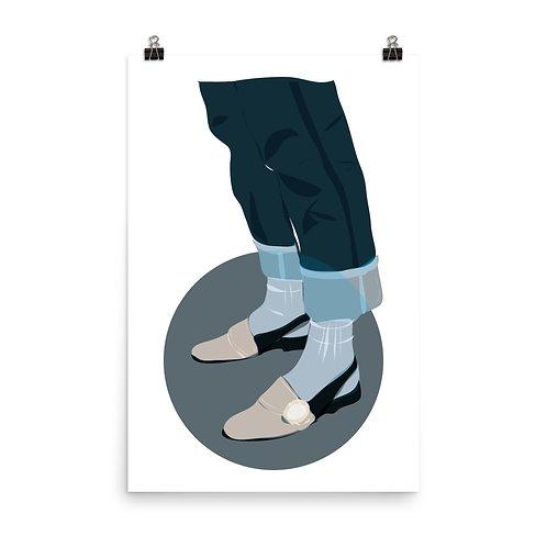Póster Zapatos con encanto