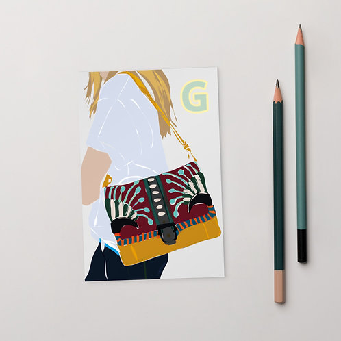 Postcard G