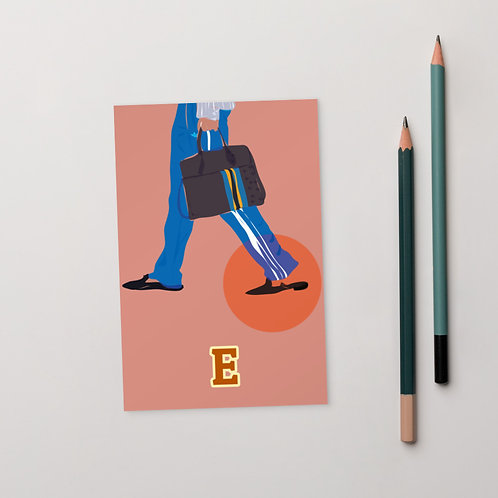 Postcard E