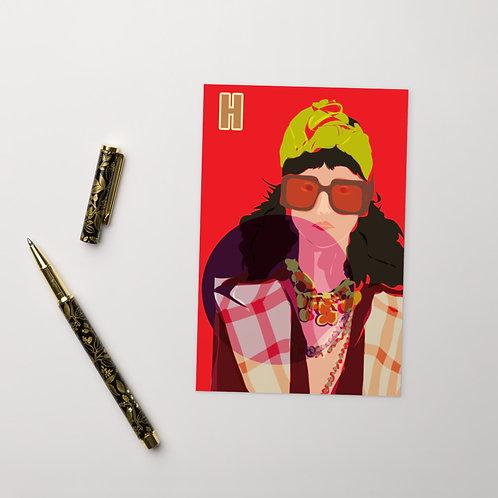 Postcard H