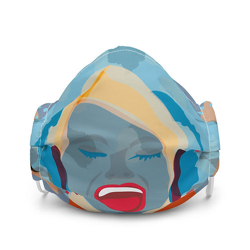 Face mask SCREAM