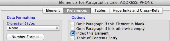 Index this Element
