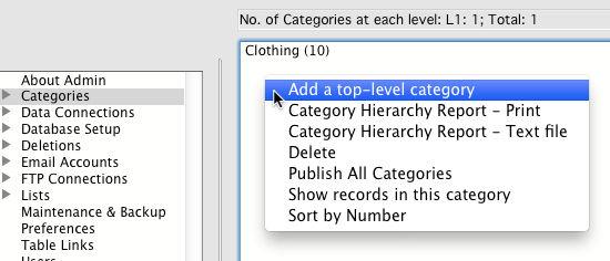 Add a Category