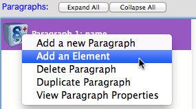 add an element