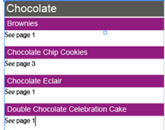 Cross-references in Adobe InDesign