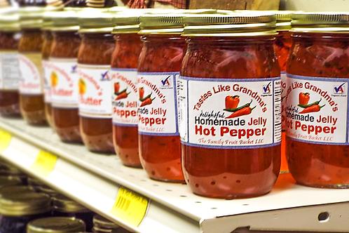Tastes Like Grandma's Homemade Hot Pepper Jelly
