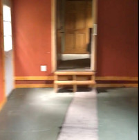 BEFORE: entry to bedroom/pass through