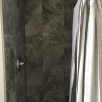 AFTER: ensuite tile shower