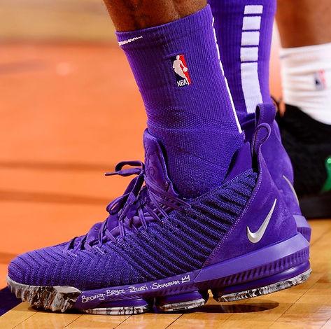"0236377f8bbc Photo Courtesy  brkicks – Nike LeBron 16 PE solecollector – Nike LeBron 16  ""1 Thru 5"""