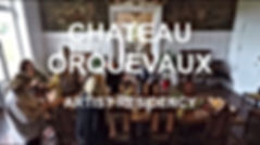 Chateau Orquevaux, Hege Heraldsen, artthou, Artist Residencey France,