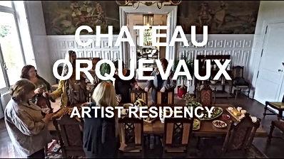 Chateau Orquevaux, Hege Heraldsen, artthou, Artist Residencey France,