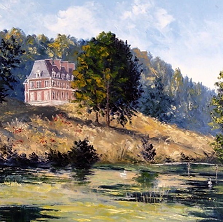 Château Orquevaux Artist Residency France