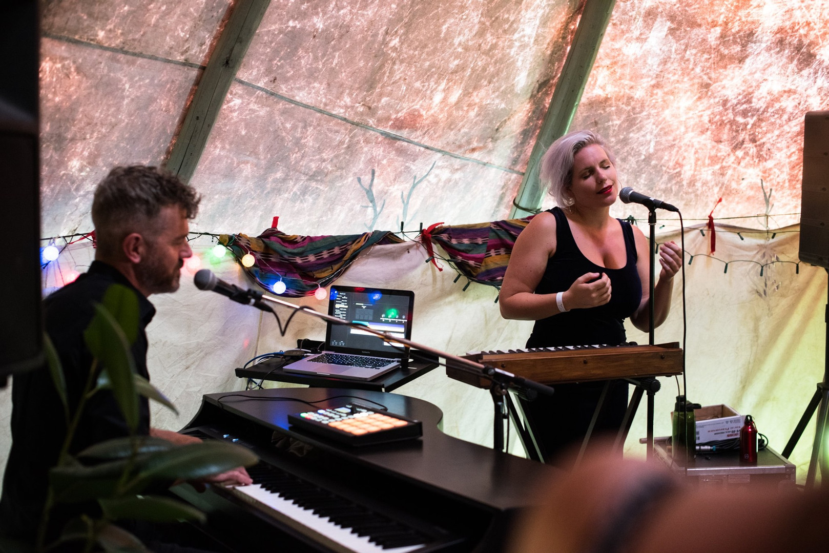 Nina June performing in the Tipi 2.jpg