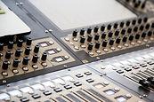 consola de mezclado, sonido, audio, vídeo, iluminación