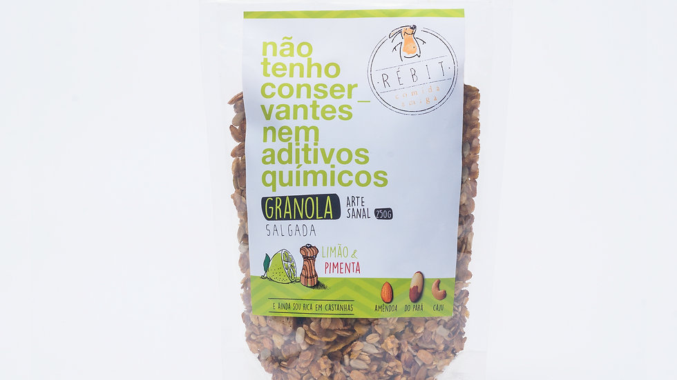 Granola Lemon Pepper 250g