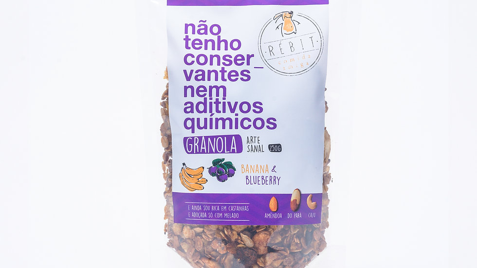 Granola Banana & Blueberry 250g