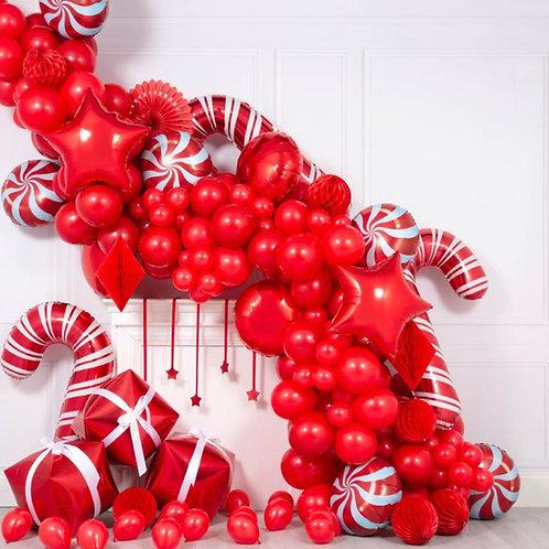 Christmas Balloon Garland Party Set