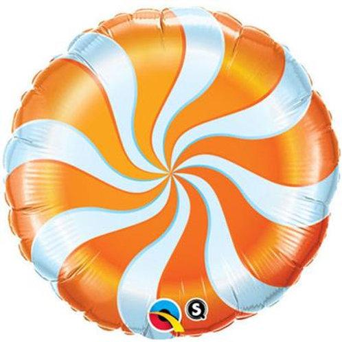 Candy Swirl Orange 45cm