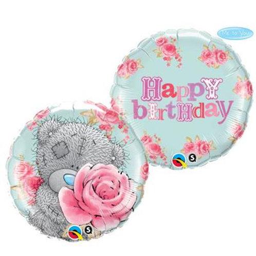 Qualatex Balloons Tatty Teddy Birthday Roses 45cm
