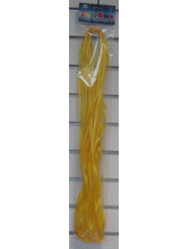 Pre Cut Ribbon with Clips 25pk Yellow