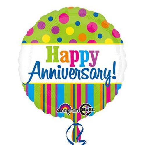 Happy Anniversary HEXL 43cm