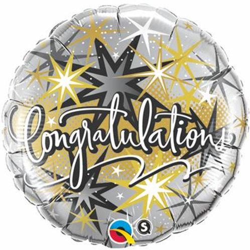 Qualatex Balloons Congratulations Elegant 45cm