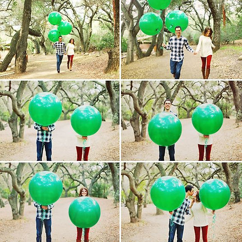90CM EMERALD GREEN JUMBO BALLOONS