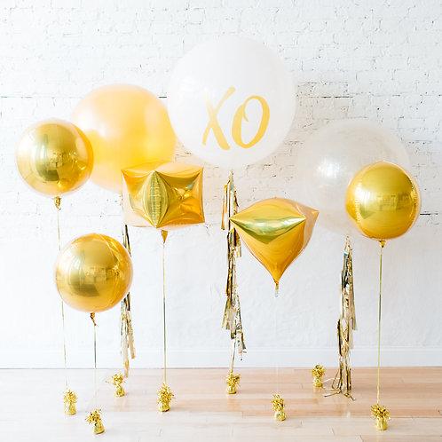 Giant XO Balloon Wedding Balloon Backdrop