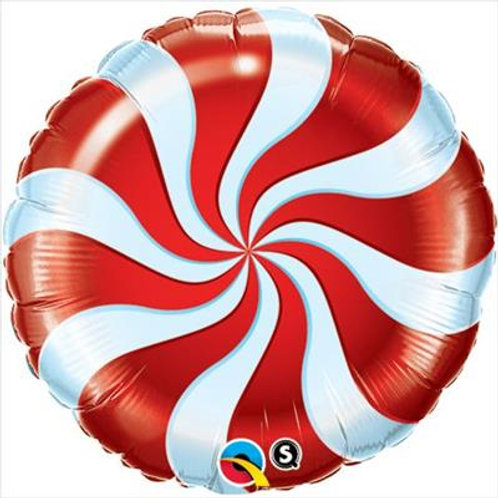 Candy Swirl Red 45cm unpackaged