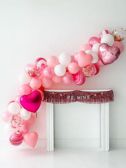 Valentine's Balloon Garland 3 Meters