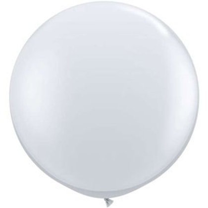 Qualatex Balloons White 90cm