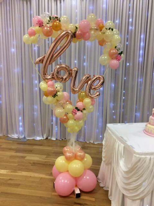Special Gift Love Balloon arch