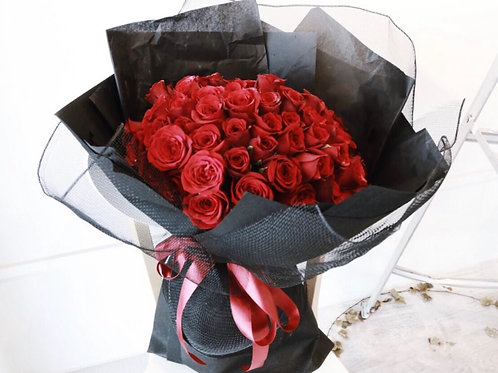 99 Red Rose Fresh Bouquet