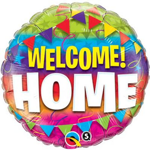 Qualatex Balloons Welcome Home 45cm