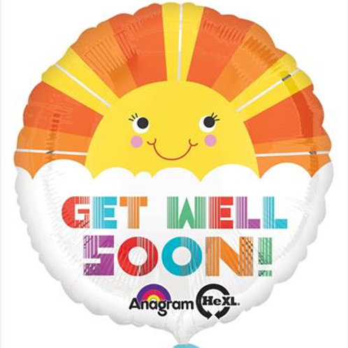 Get Well Smiley Sunshine 45cm
