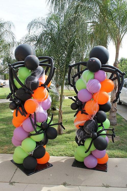 Halloween Balloon Stands