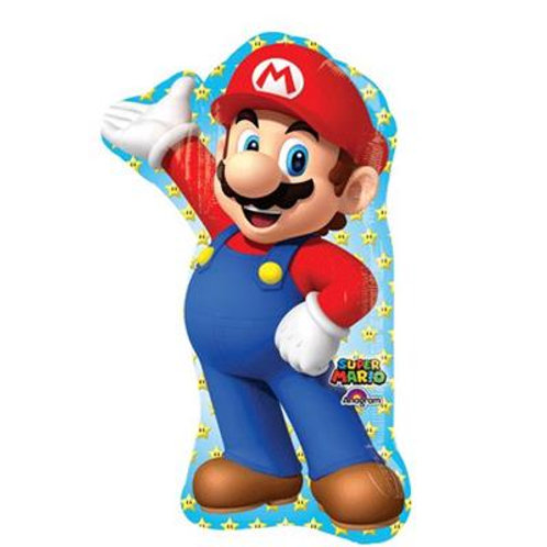 Mario Bros SuperShape 55cm x 83cm