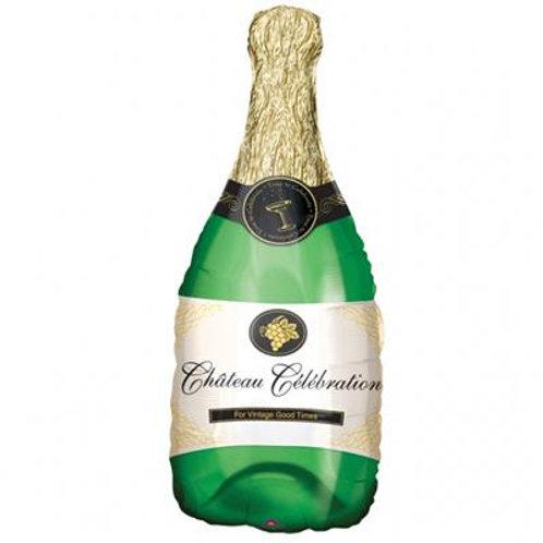 Champagne Bottle SuperShape 35 x 91cm