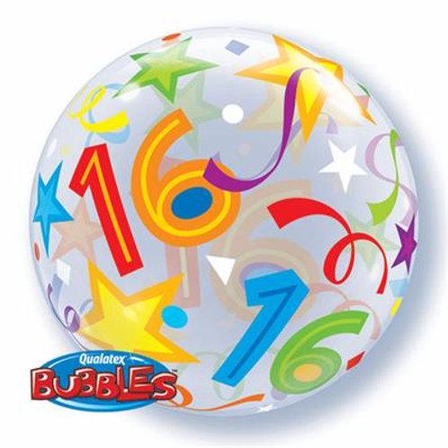 16 Brilliant Stars Bubble 55cm