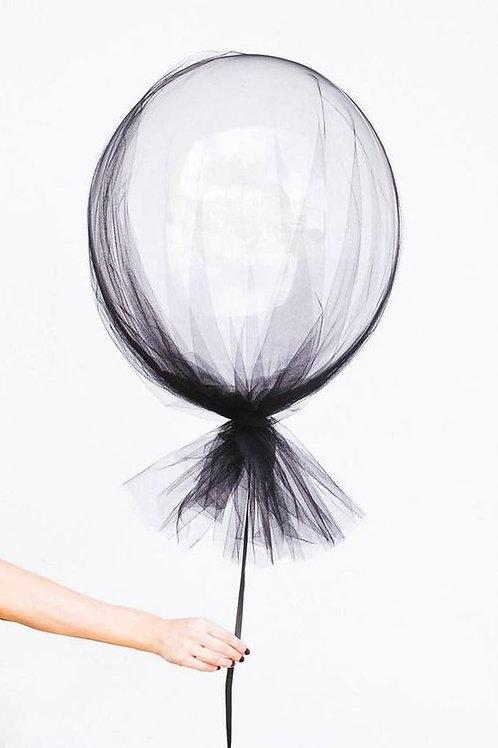 Halloween Black Tutu cystal balloon