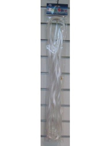 Pre Cut Ribbon with Clips 25pk White