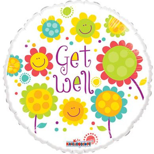Get Well Smiling Flowers Jellybean 45cm